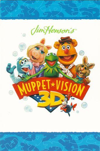 Muppet*vision 3-D Poster
