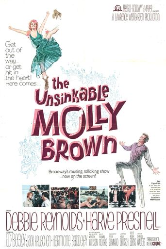 The Unsinkable Molly Brown Poster