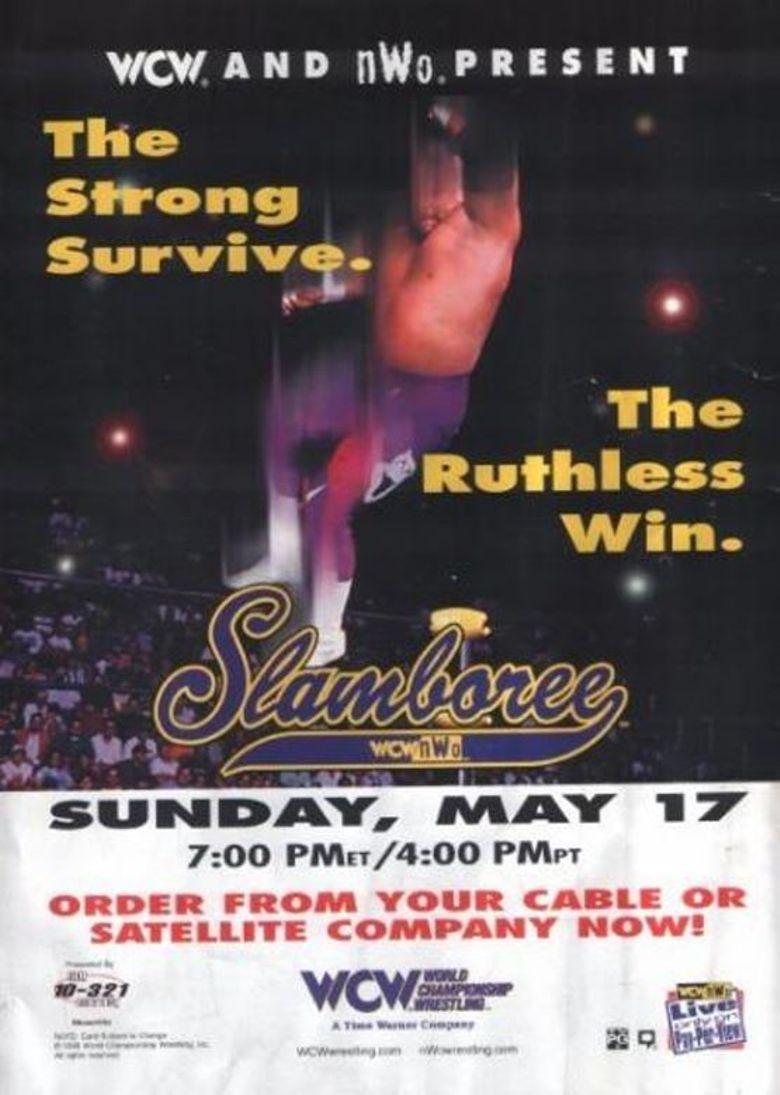 WCW Slamboree 1998 Poster