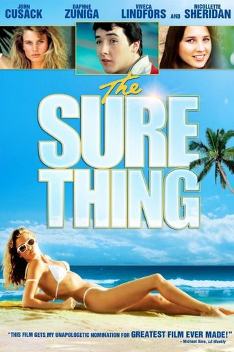 The Sure Thing Poster