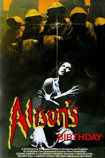 Alison's Birthday Poster