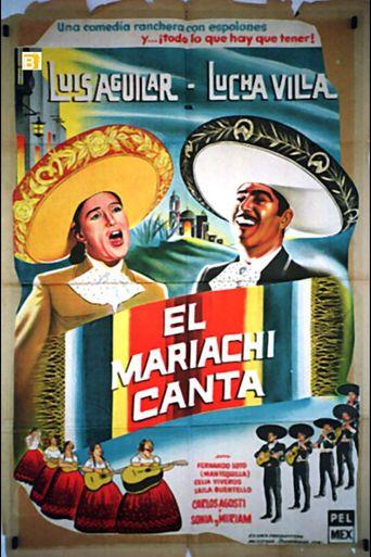El mariachi canta Poster