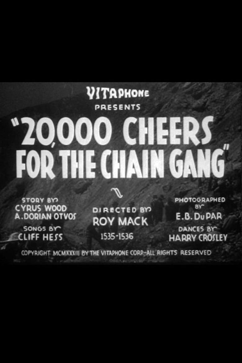 20,000 Cheers for the Chain Gang Poster