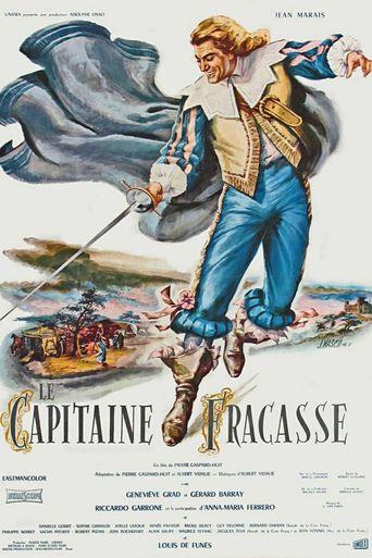 Captain Fracasse Poster