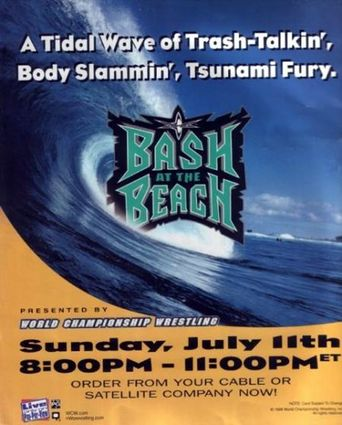 WCW Bash at the Beach 1999 Poster