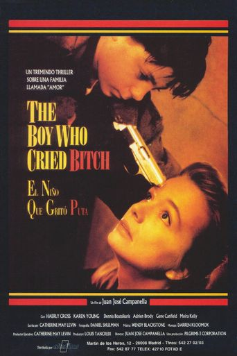 The Boy Who Cried Bitch Poster