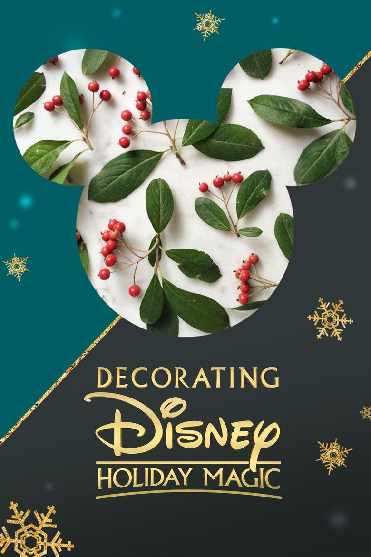 Decorating Disney: Holiday Magic Poster