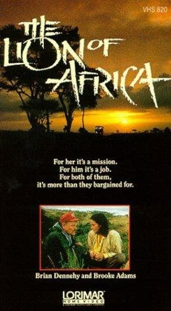 The Lion of Africa Poster