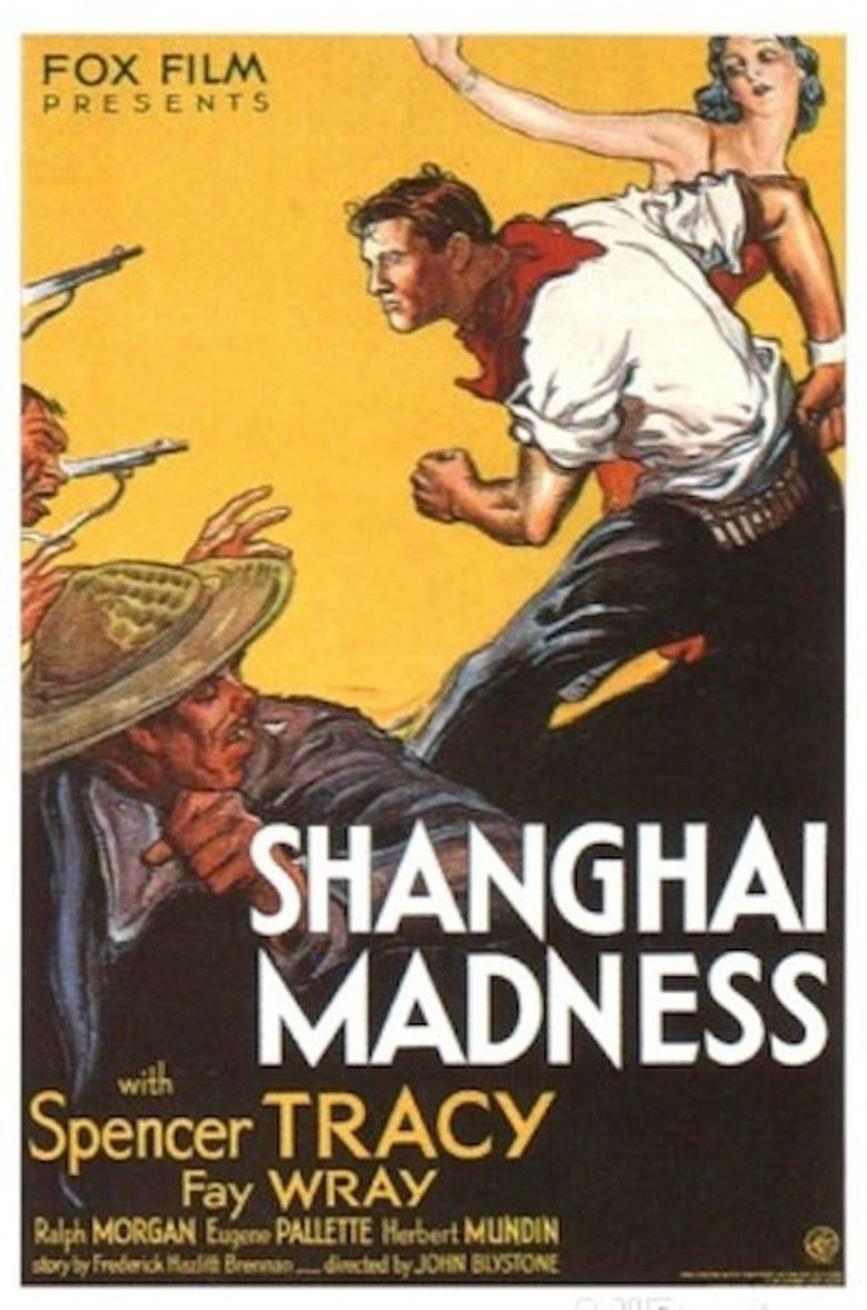 Shanghai Madness Poster