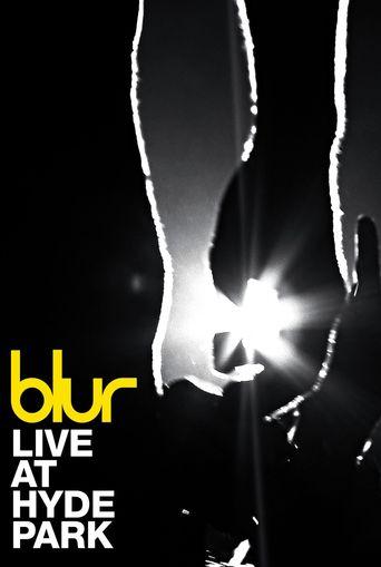 Blur - Live at Hyde Park, London Poster