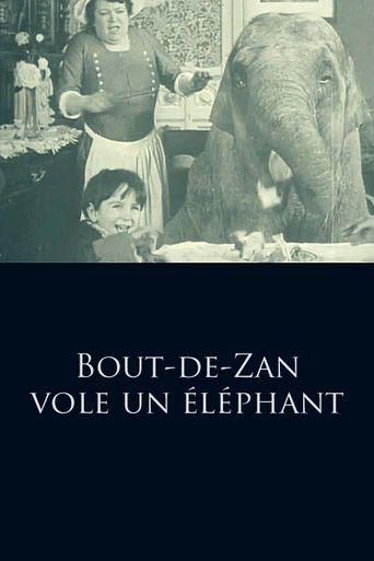Bout de Zan Steals an Elephant Poster