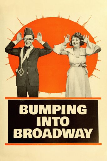 Bumping Into Broadway Poster