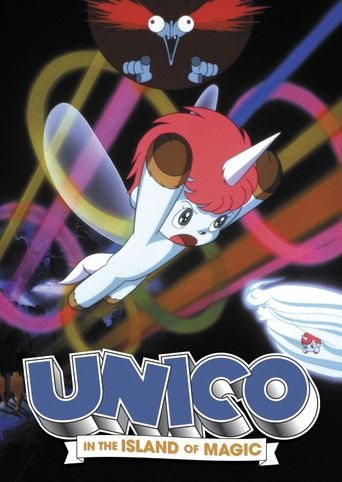 Unico In The Island of Magic Poster