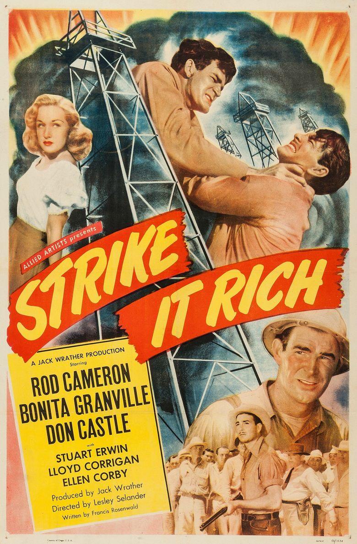 Strike It Rich Poster