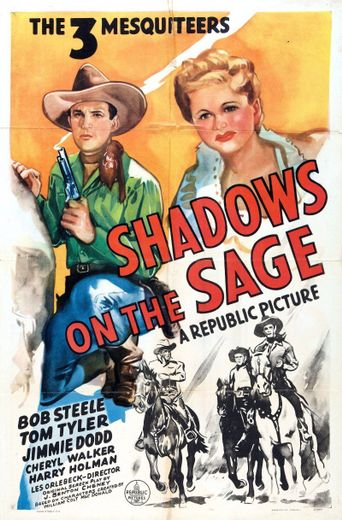 Shadows on the Sage Poster