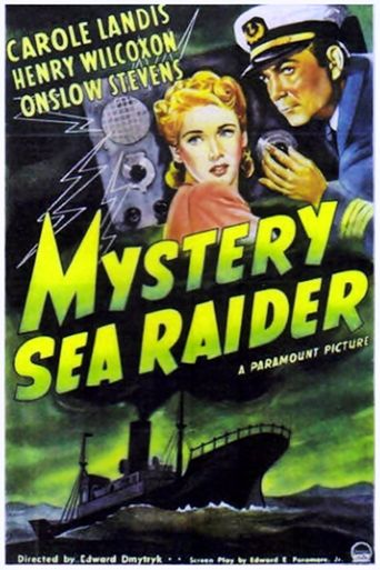 Mystery Sea Raider Poster