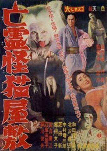 Black Cat Mansion Poster