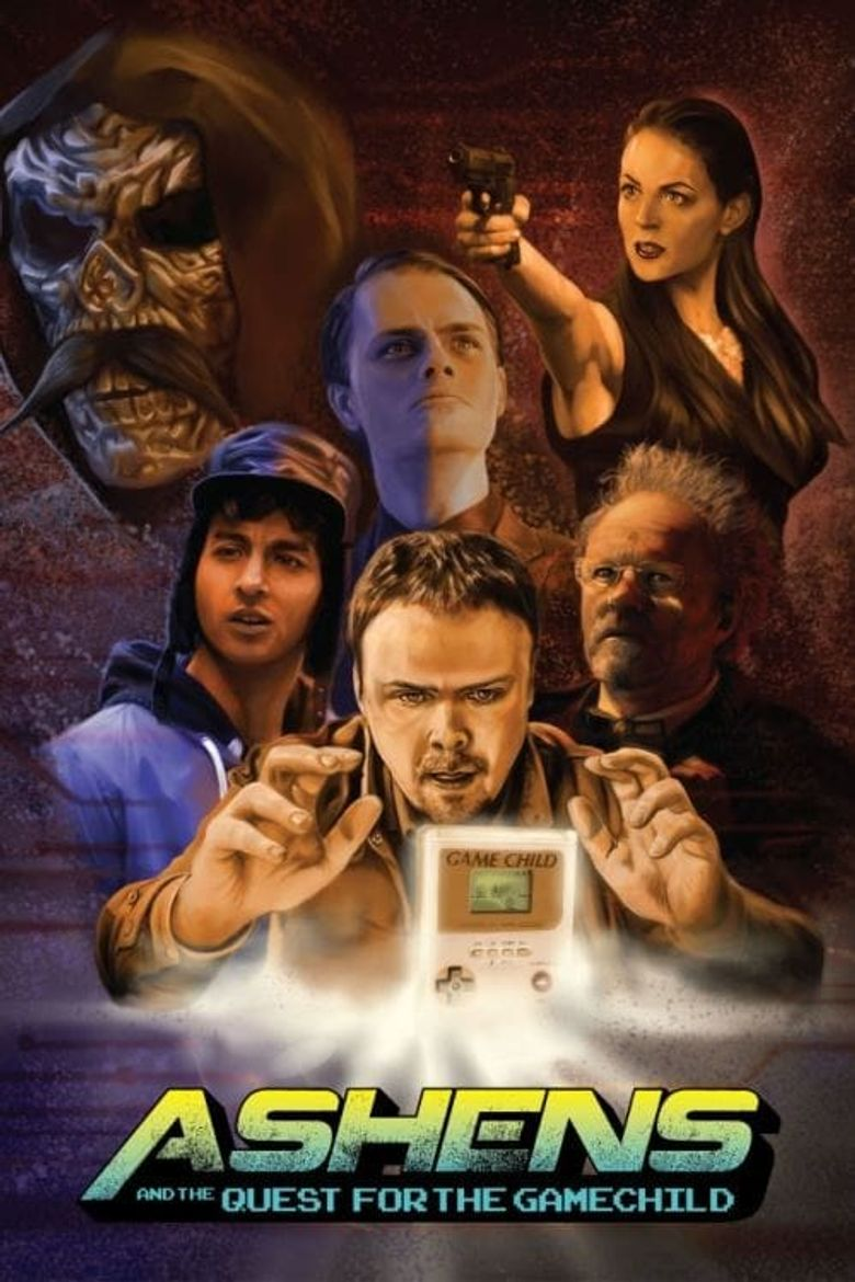 Ashens and the Quest for the Gamechild Poster