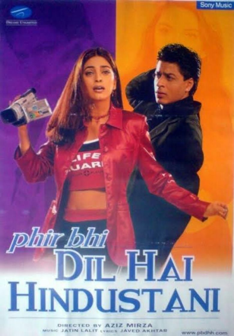 Phir Bhi Dil Hai Hindustani Poster