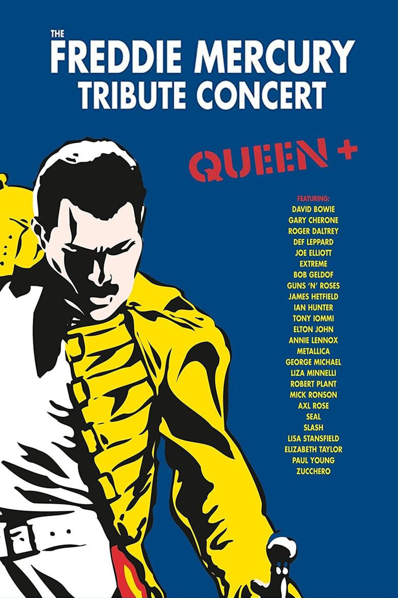 The Freddie Mercury Tribute Concert Poster