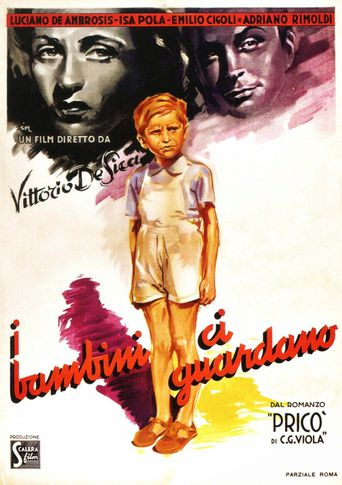 The Children Are Watching Us Poster