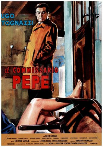 Il commissario Pepe Poster