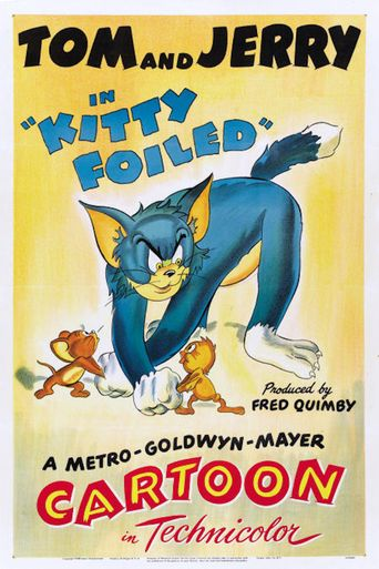 Kitty Foiled Poster
