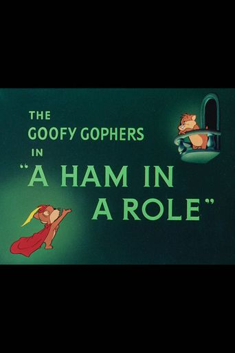 A Ham in a Role Poster
