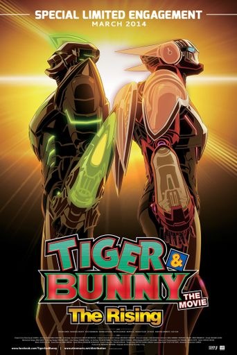 Watch Tiger & Bunny - The Movie: The Rising