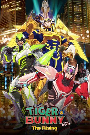 Tiger & Bunny: The Rising Poster