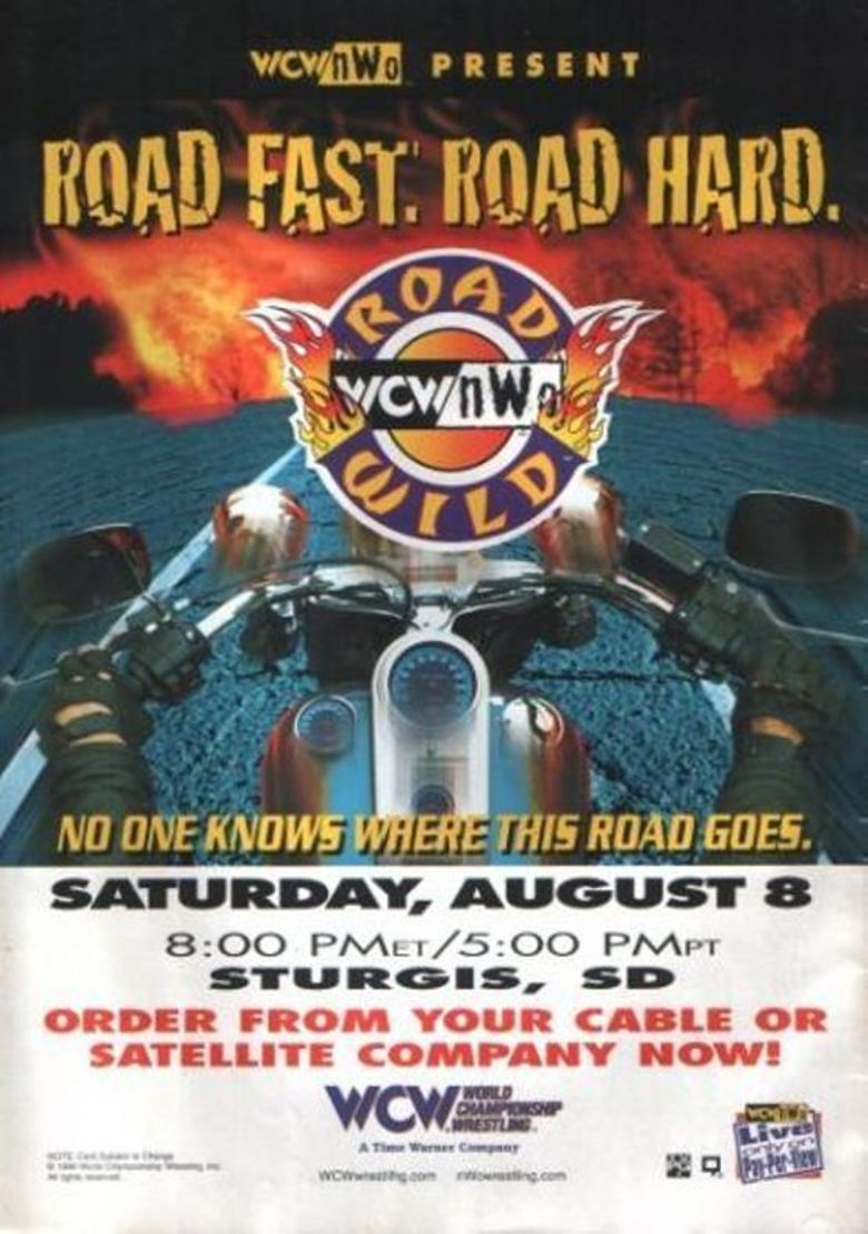 WCW Road Wild 1998 Poster