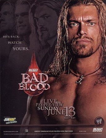 WWE Bad Blood 2004 Poster