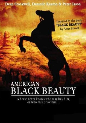 American Black Beauty Poster