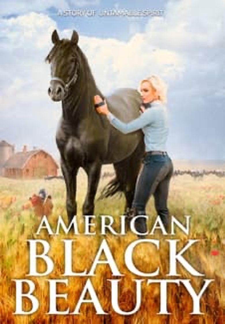 American Black Beauty Poster