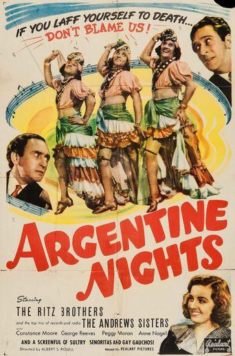 Argentine Nights Poster