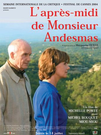 The Afternoon of Mr. Andesmas Poster
