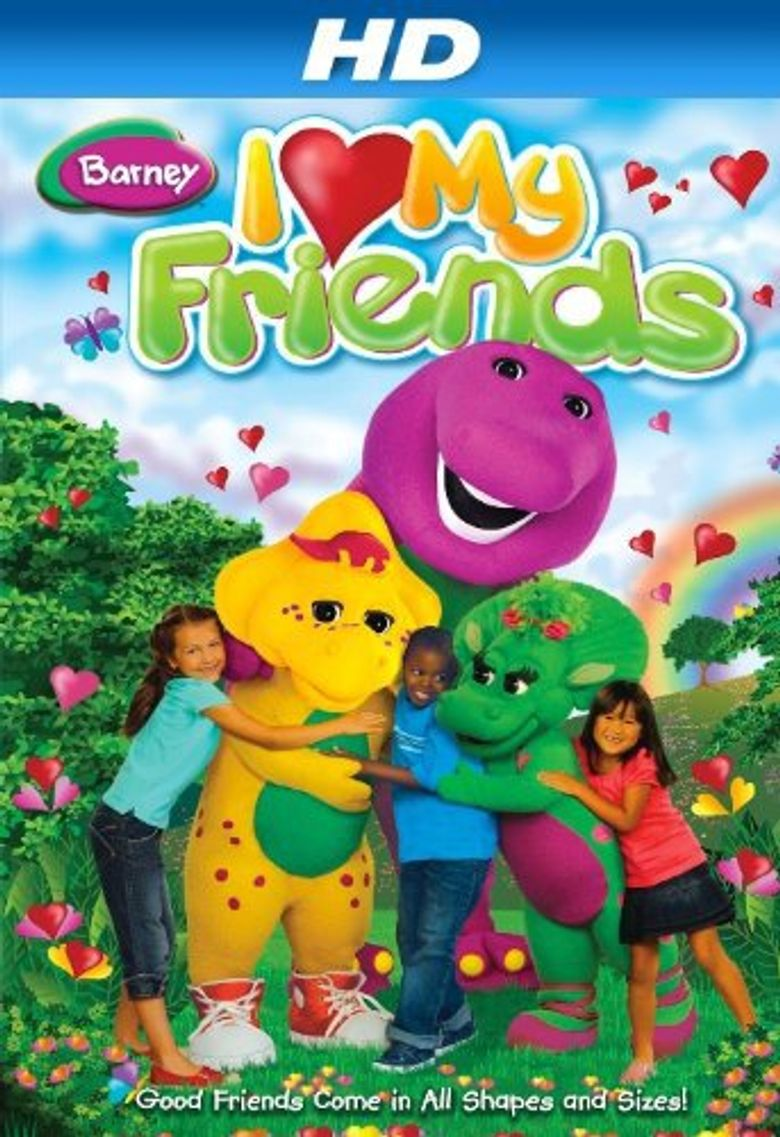 Barney: I Love My Friends Poster