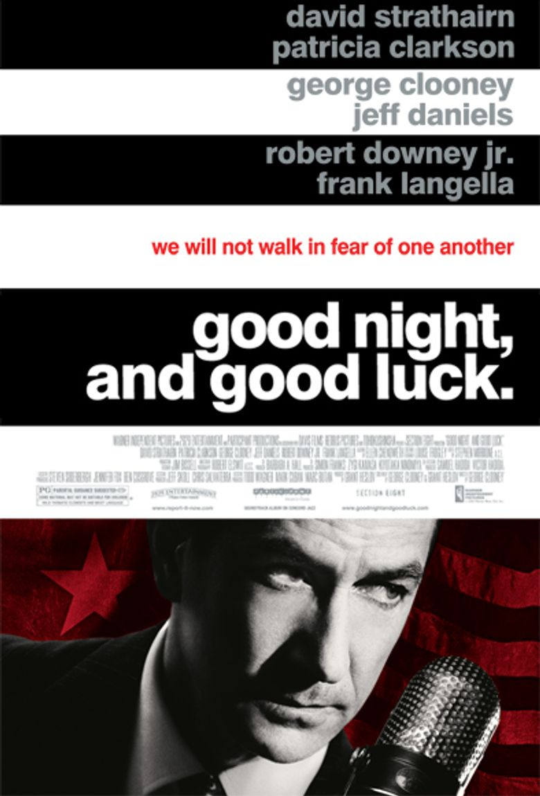 Good Night, and Good Luck. Poster
