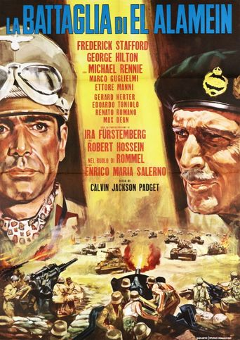 The Battle of El Alamein Poster