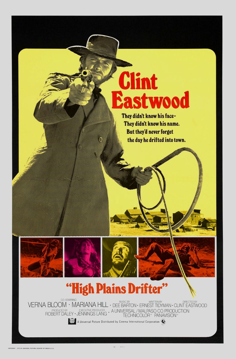 High Plains Drifter Poster