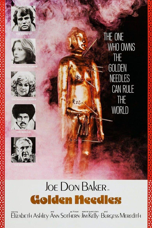 Golden Needles Poster
