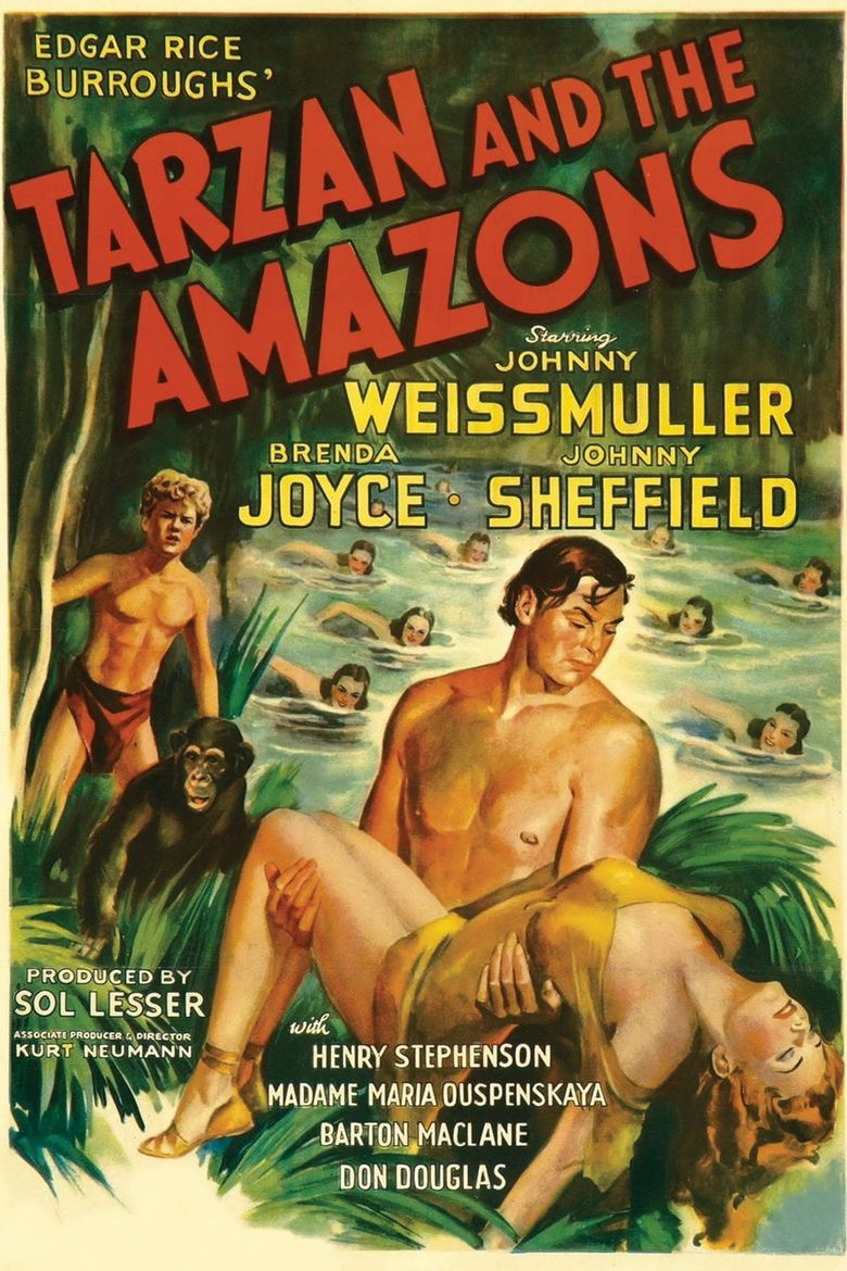 Tarzan and the Amazons Poster