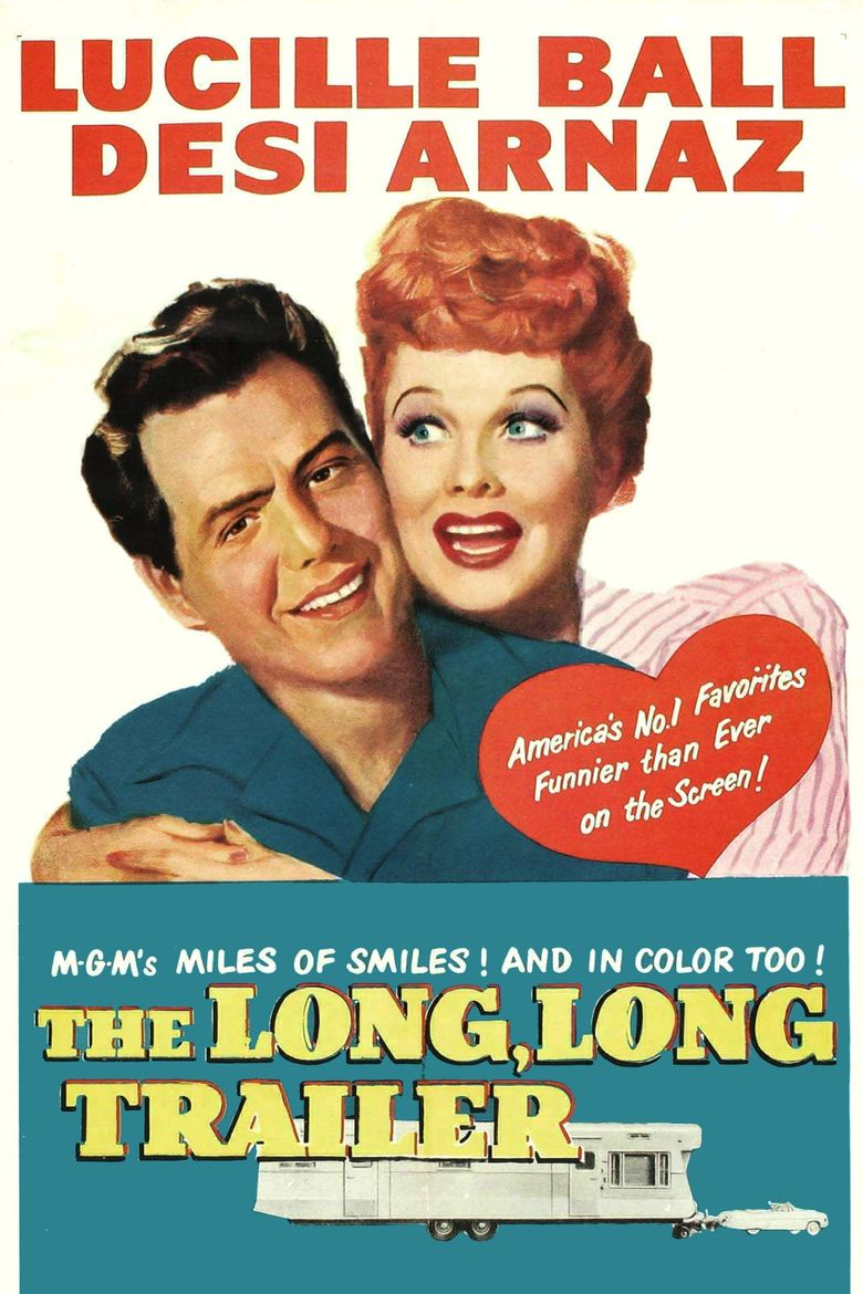 The Long, Long Trailer Poster