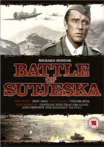 The Battle of Sutjeska Poster