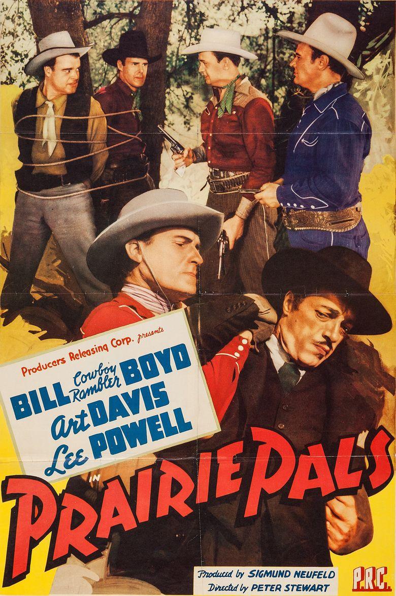 Prairie Pals Poster