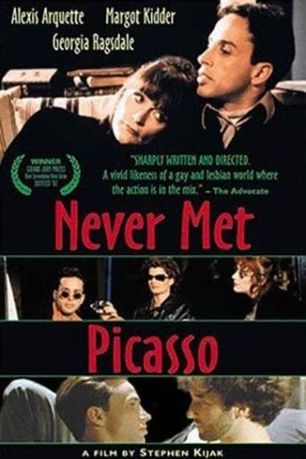 Never Met Picasso Poster