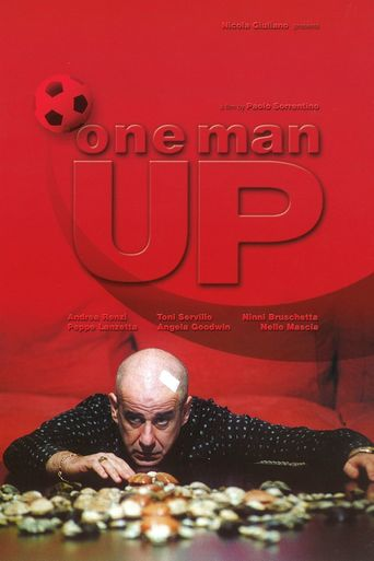 One Man Up Poster