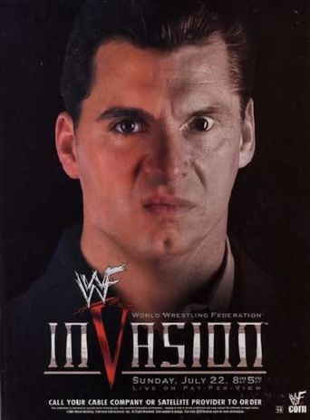 WWE InVasion Poster