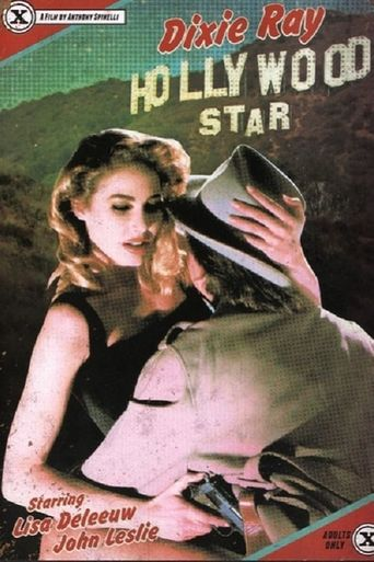 Dixie Ray Hollywood Star Poster