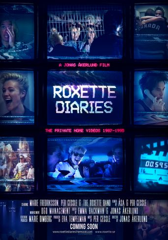 Roxette Diaries Poster